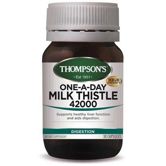 Thompson's One-A-Day Milk Thistle 42000  - 30 Capsules