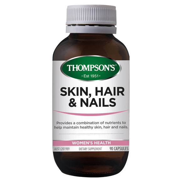 Thompson's Skin Hair & Nails - 90 Capsules