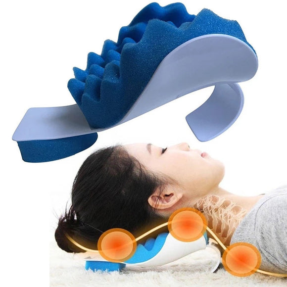 Travel Neck Massage Sleep Pillow Theraputic Support