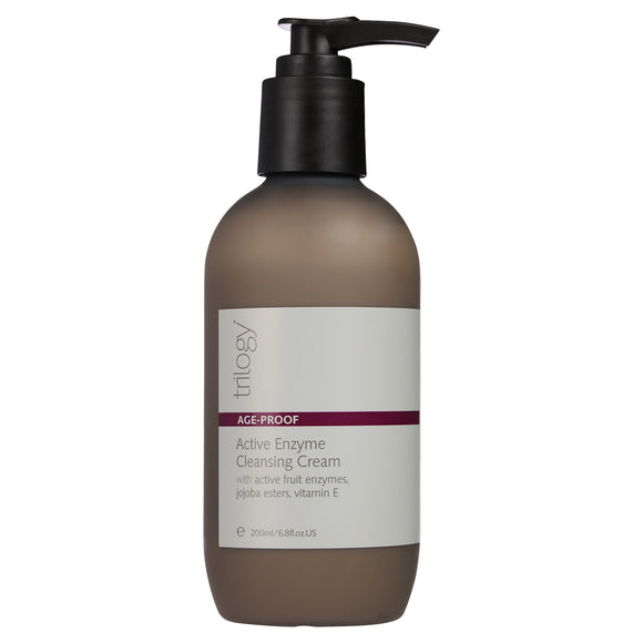 Trilogy Age Proof - Active Enzyme Cleansing Cream 200ml pump