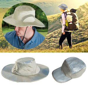 Unisex Summer Hydro Cooling Bucket Hat with UV Protection