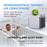 Upgraded 3 in 1 Personal Air Cooler AC Air Conditioner Purifier Humidifier