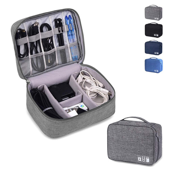 Waterproof Charging Cable Travel Organiser Bag