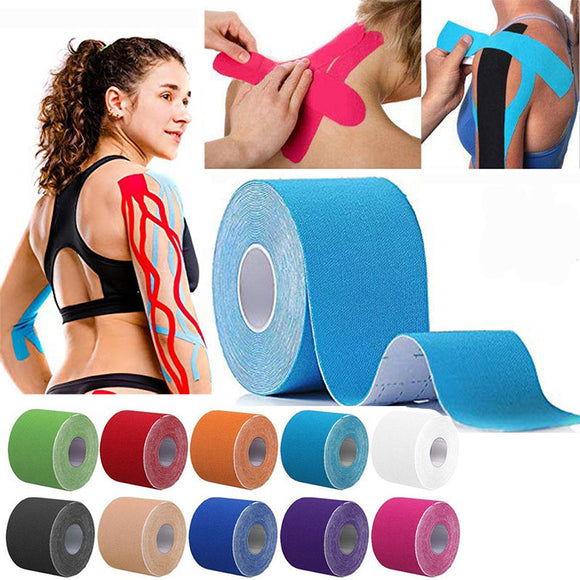 Waterproof Physio Kinesiology Tape Muscle Support Pain Relief