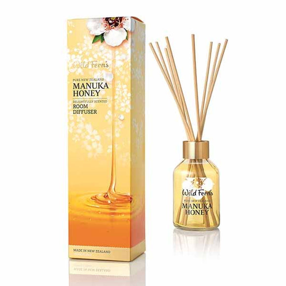 Parrs Wild Ferns Manuka Honey Delightfully Scented Room Diffuser 100ml