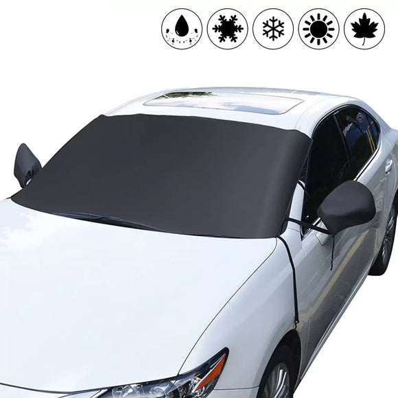 Windscreen Cover Car Window Screen Frost Ice Snow Sun Visor Dust Protector