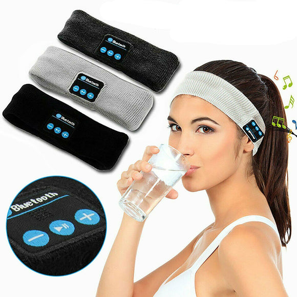 Wireless Bluetooth Headband Headset Sport