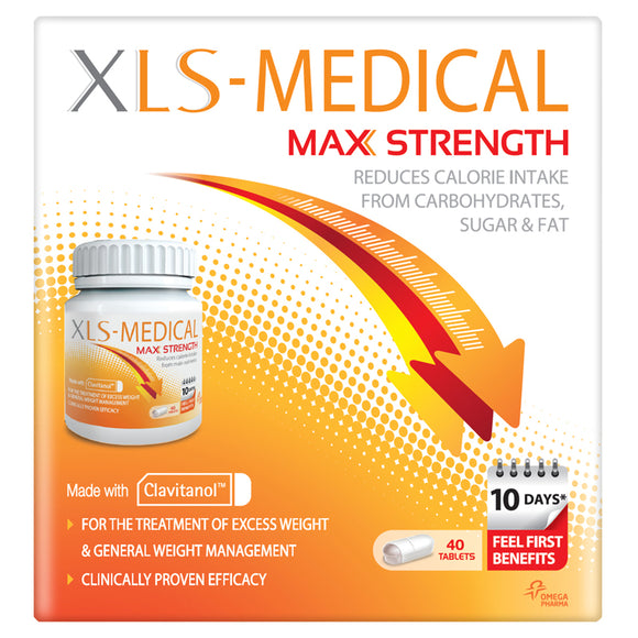 XLS Medical Max Strength Tablets - 40 Tablets