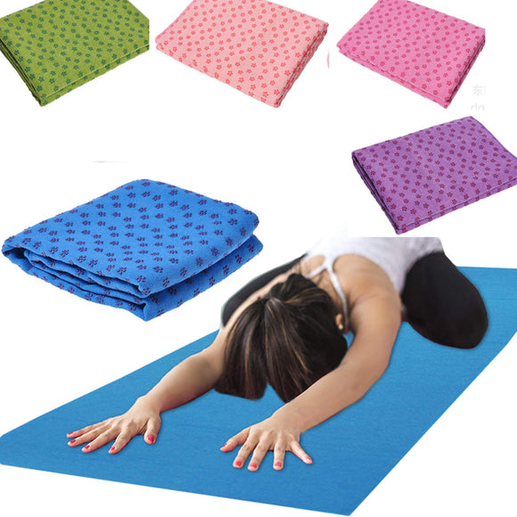 Yoga Super Absorbent Yoga Mat Towel