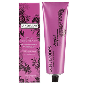 Antipodes Joyful Hand & Body Cream - 120mL