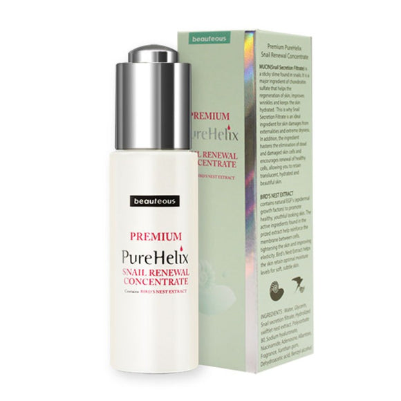 Beauteous PureHelix Snail Renewal Concentrate 30mL