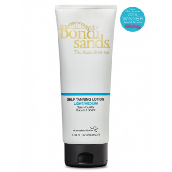 Bondi Sands Self Tanning Lotion -  Light/ Medium 200mL
