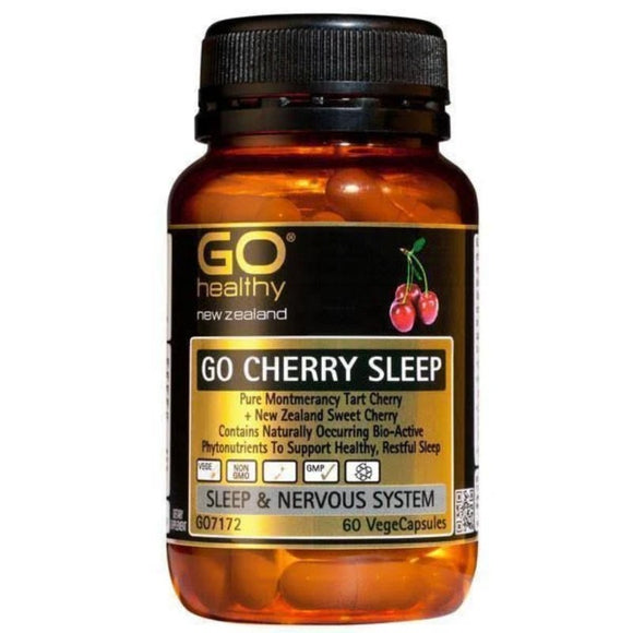 Go Healthy Go Cherry Sleep 60 Vegecaps