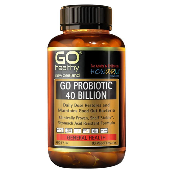 Go Healthy Go Probiotic 40 Billion