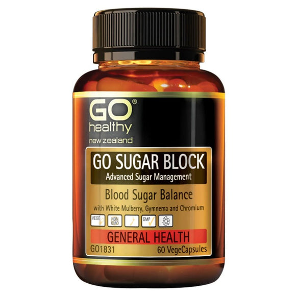 Go Healthy Go Sugar Block 60 Vegecaps