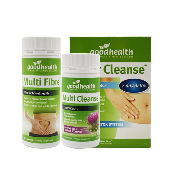 Good Health Body Cleanse Total Body Detox - Twin Pack