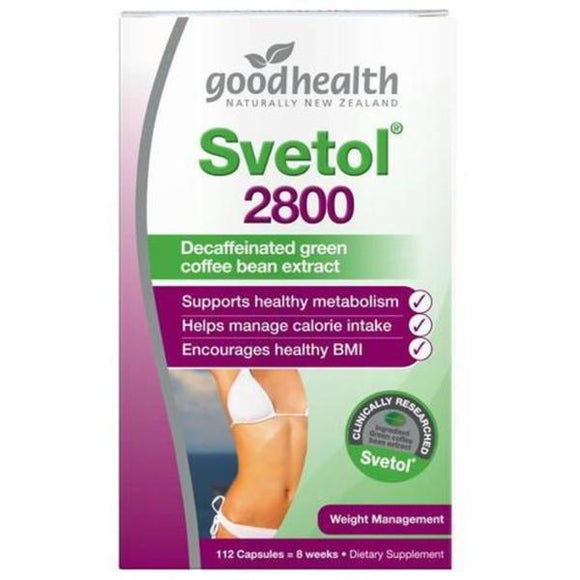 Good Health Svetol 2800 - 112 Capsules