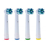 Compatible Replacement Toothbrush Heads Refill for Oral-B Electric Cross Action