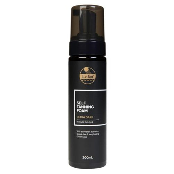 Le Tan Ultra Dark Self Tanning Foam 200mL