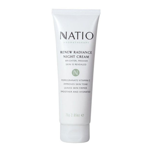 Natio Renew Radiance Night Cream 75g
