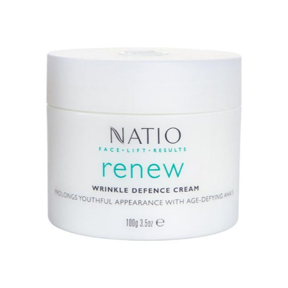 Natio Renew Wrinkle Defence Cream 100g