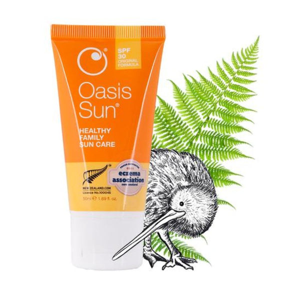Oasis Beauty Oasis Sun SPF 30 Family Sunscreen- 50mL