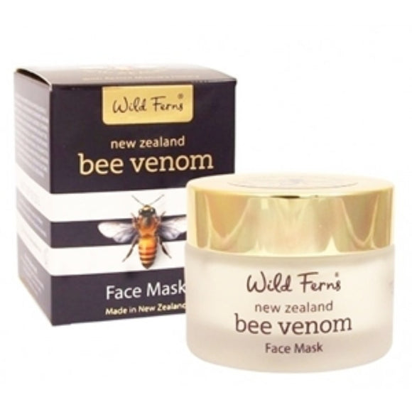 Parrs Wild Ferns Bee Venom Face Mask with Active Manuka Honey 47g