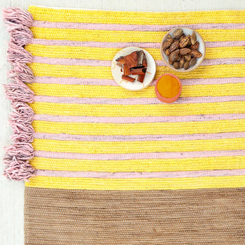 Harda, Turmeric, and Sappan Wood Ayurvedic Yoga Mat