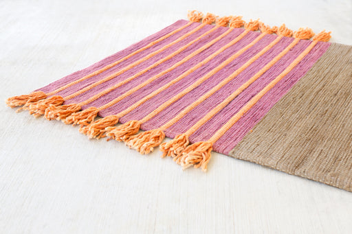 Organic hand made local yoga mat