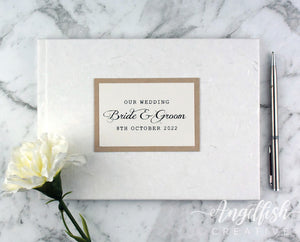 Rustic Silk Guest Book