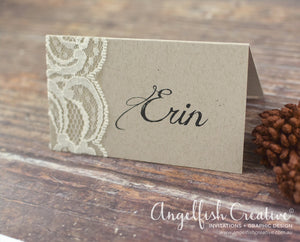 Lace Placecard