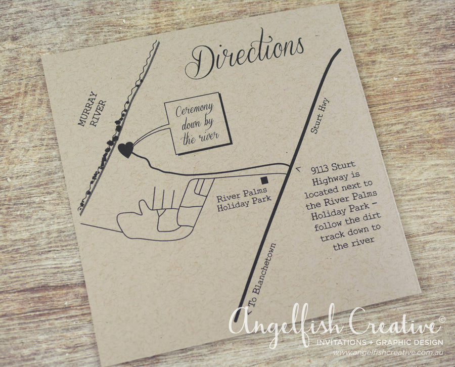 Map/Directions Card