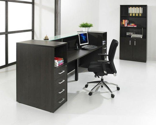 Receptie opstelling- balie Manage-It 188cm freeshipping - Tom Kantoor & Projectinrichting