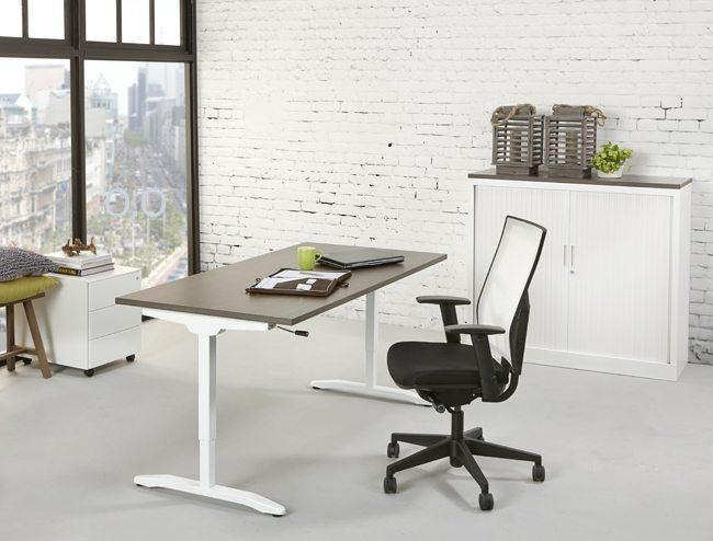 Bureau verstelbaar freeshipping - Tom Kantoor & Projectinrichting