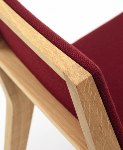 De Vorm Wood Me Chair - Tom Kantoor & Projectinrichting