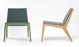 De Vorm Wood Me Lounger - Tom Kantoor & Projectinrichting