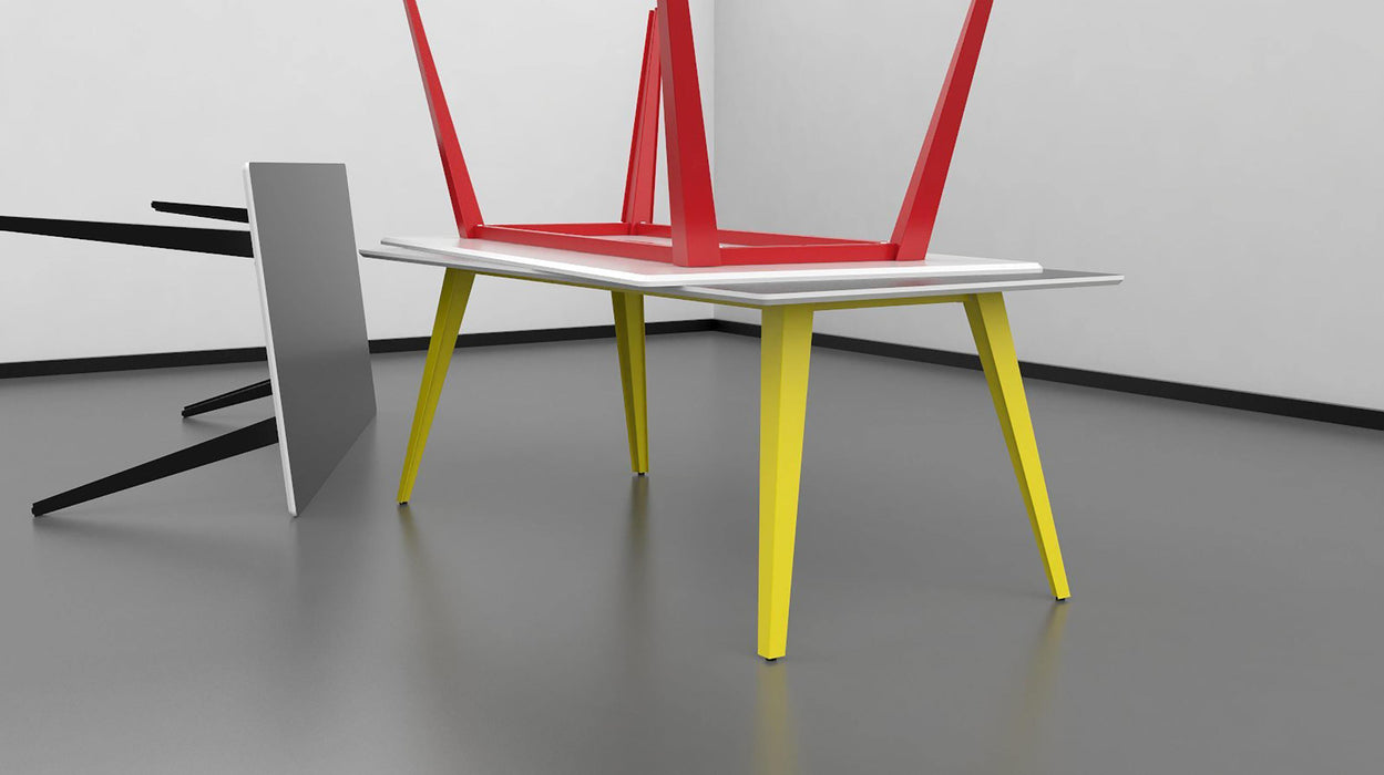 Spider Table (74,3 cm hoog) freeshipping - Tom Kantoor & Projectinrichting