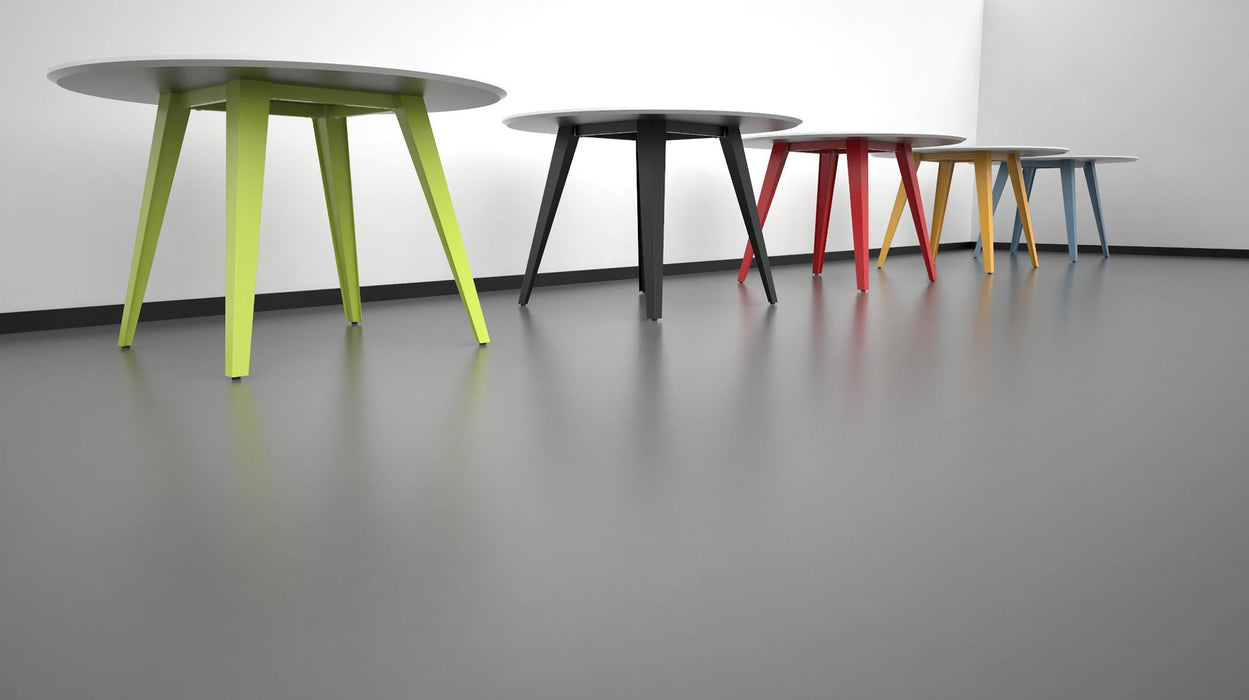 Spider Table Rond (92,3 cm hoog) - Tom Kantoor & Projectinrichting