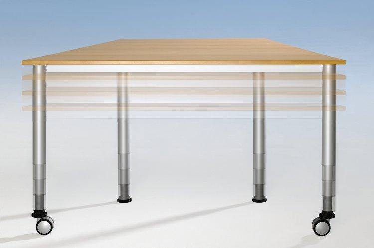 Verrijdbare tafel - Tom Kantoor & Projectinrichting