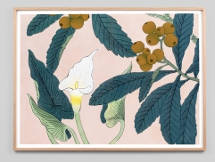 Lily Woodblock