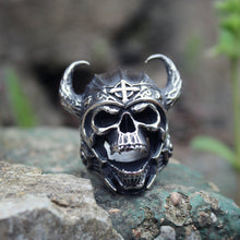 Load image into Gallery viewer, CC™ Eternal Warrior Horned Ring