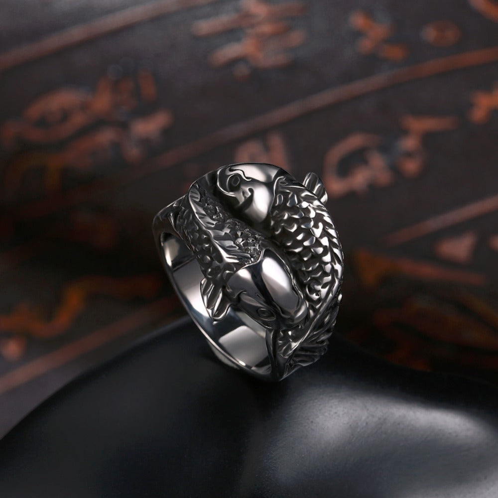 CC™ Koi Fish ring