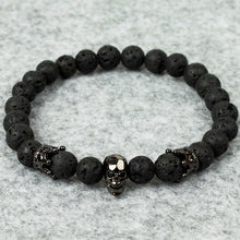 Load image into Gallery viewer, Lava Skull Bracelet