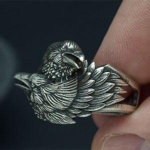 CC™ Odin's Entwined Ravens Ring