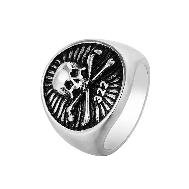 Crown Gnostic Warrior ring