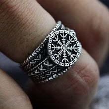 Load image into Gallery viewer, CC™ Vegvisir ring