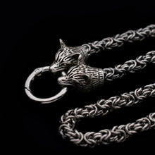 Load image into Gallery viewer, CC™ Wolf of Asgard Steel Necklace