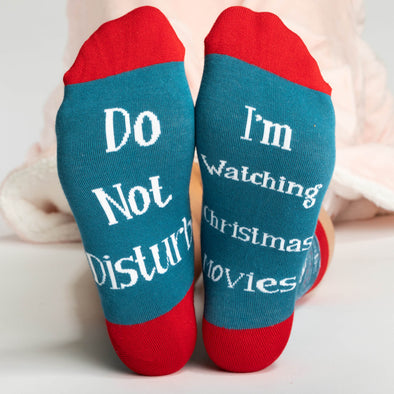 I´m Watching Christmas Movies Chaussettes