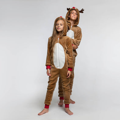 Enfants Bodies Rennes Christmas Pajamas Kids SillySanta