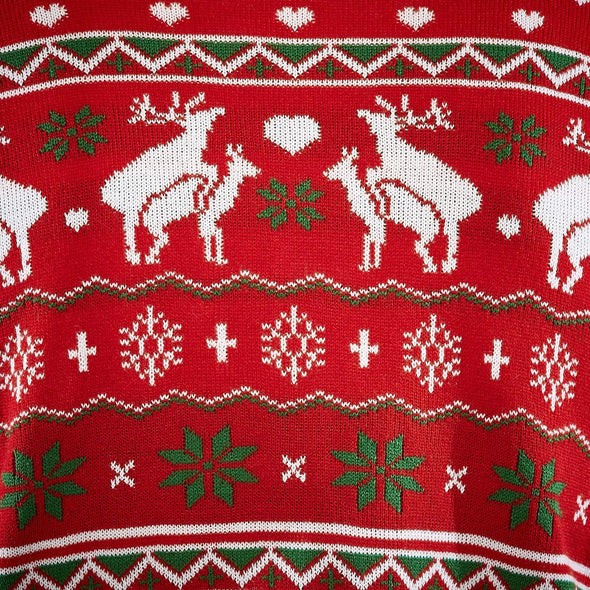 Hommes Happy Humping Pull de Noël Christmas Sweater Mens SillySanta